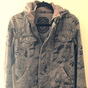 TNA Hooded Bomber-style Jacket